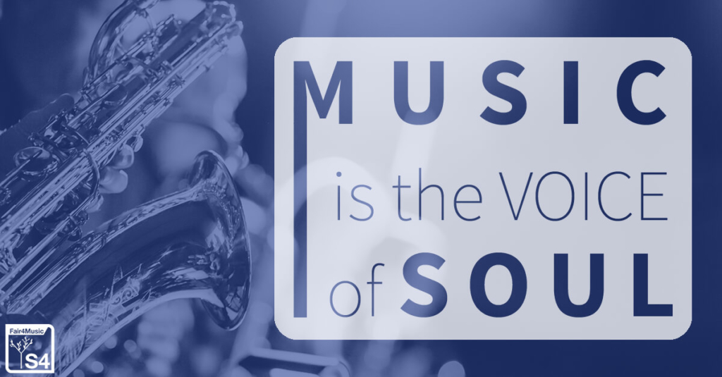 Music Is The Voice Of Soul