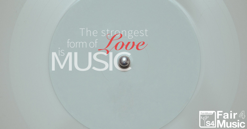 The Strongest Form Of Love Is Music